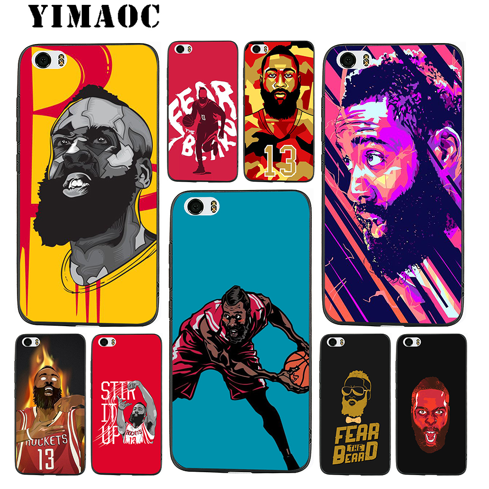 4d94a17cc849 YIMAOC James Harden Basketball Soft Silicone Case for Xiaomi Redmi Note 9  Mi 8 Se 7 6 6A A1 A2 4X 4A 5A 5 MAX 3 MiA1 A2
