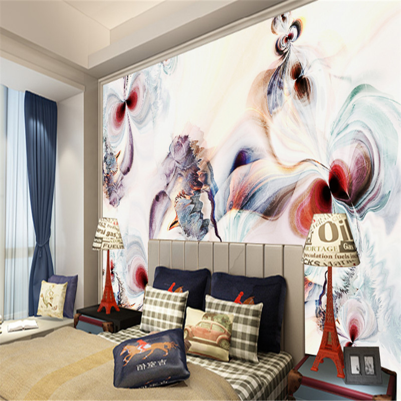 customize modern 3d photo wallpaper wall 3d mural wallpaper abstract art oil painting background wall home decor for study room pure green mountain art wallpaper mural on the wall for kid s room wallpaper nursery room wall decor free shipping