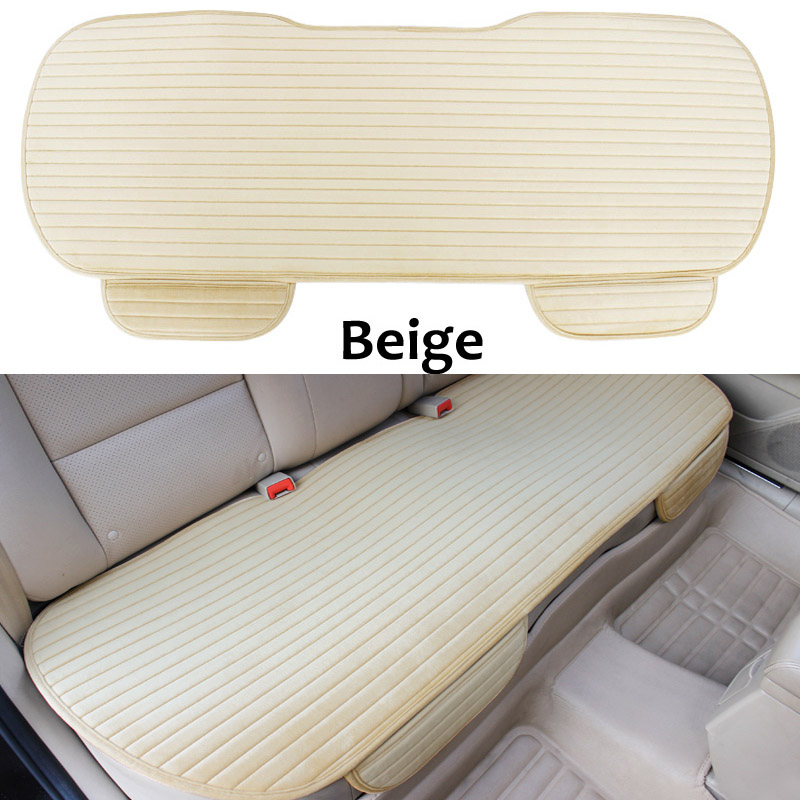 Winter Car Rear Seat Cover Cushion Winter Back Row Seat Protector Mat Universal Size For VolksWagen Toyota Chevrolet KIA hyundai artificial leather 4 seasons car seat cushion mat cover for alfa romeo acura benz jaguar kia volvo honda toyota baby520