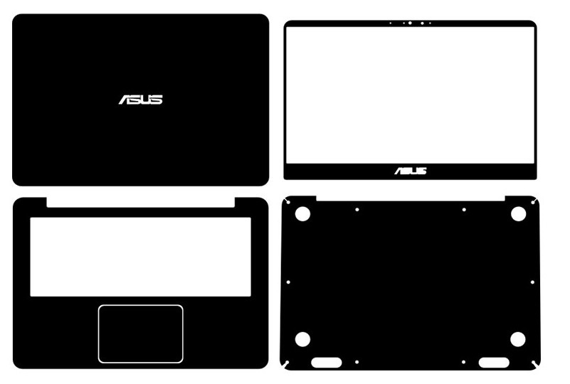 Special Laptop Carbon fiber Vinyl Skin Stickers Cover For 2016 ASUS UX410 UX410UQ UX410UA 14-inch