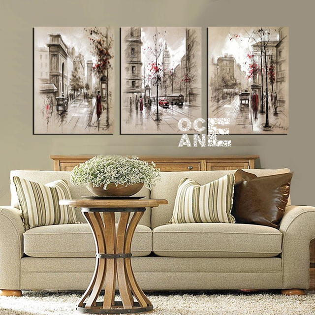 square drill diamond embroidery triptych european style home decoration whole diamond mosaic needlework diamond painting D486