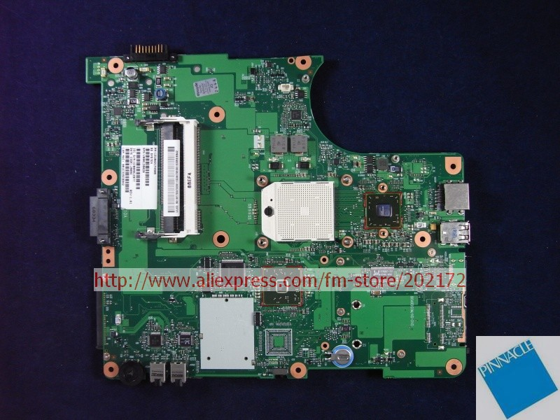 V000138020 Motherboard for Toshiba  Satellite  L300D  6050A2174501 nokotion sps v000198120 for toshiba satellite a500 a505 motherboard intel gm45 ddr2 6050a2323101 mb a01