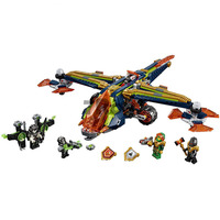 Nexo Knights Aarons X bow Building Blocks Sets Kits Bricks Classic Model Toys Gift Marvel Compatible with Lego Nexus 10818 72005
