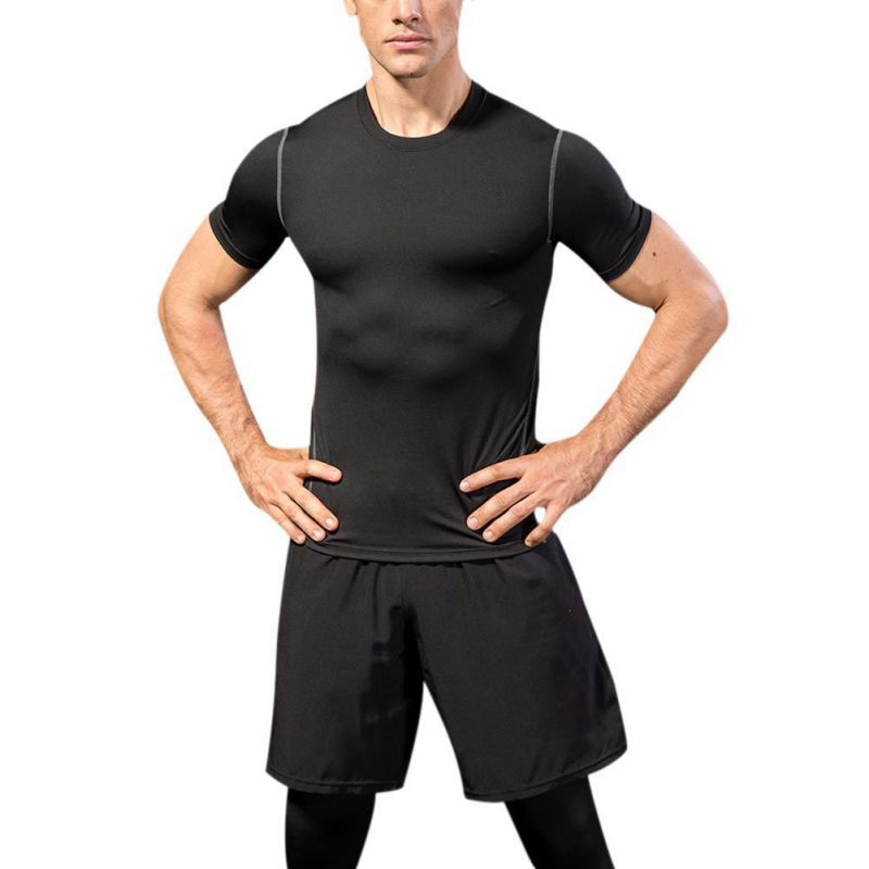 Mens Loose Casual Shorts Elastic Waist Quick Dry Shorts for Fitness Gyms