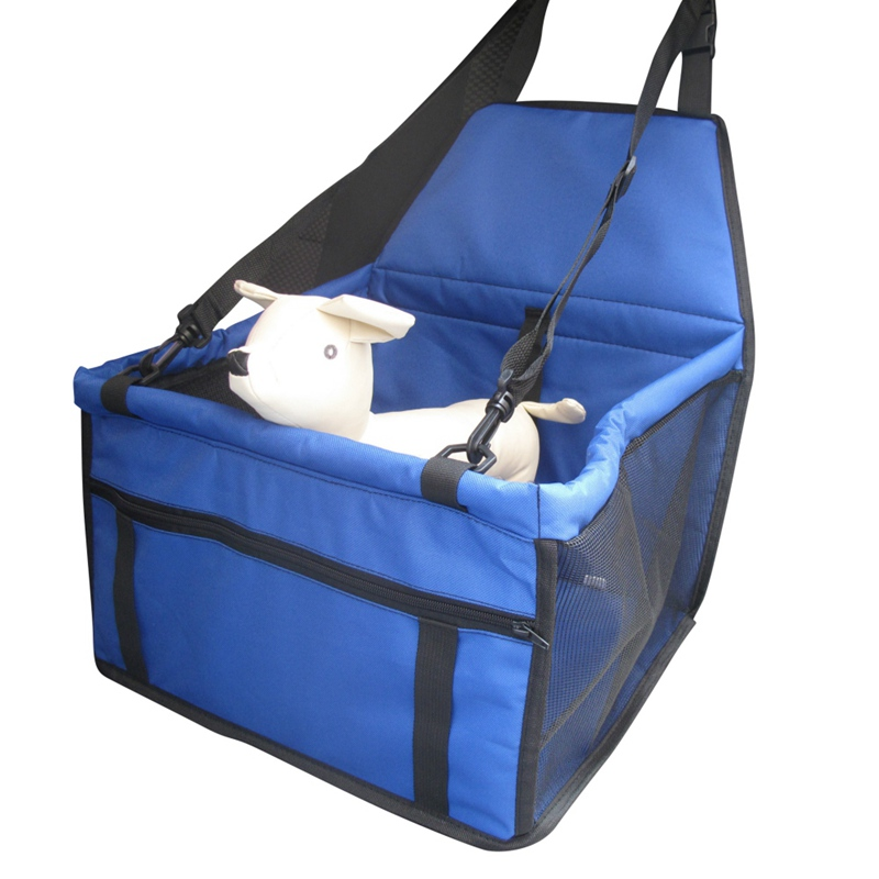 New Portable Travel Dog Bag Pet Car Carrier Mesh Yarn Dog Car Booster Seat Cover Carrying Bags For Small Dogs