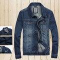 2015 горячая распродажа людей прибытия свободного покроя мода джинсовые jaket с высокое качество и удобные мужские джинсы мужчин пальто M-XXXL