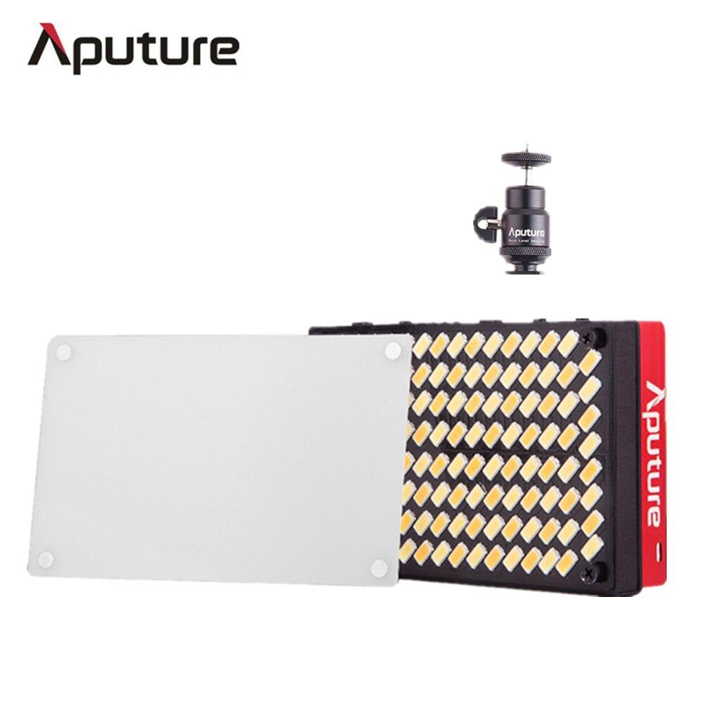 Aputure AL-MX LED Vidéo Couleur Température 2800-6500 k TLCI/CRI 95 + sur-remplissage de l'appareil photo lumière format de poche Minuscule LED Éclairage Livraison DHL