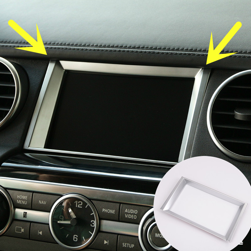 Inner Centre GPS Navigation Cover Trim For Land Rover LR4