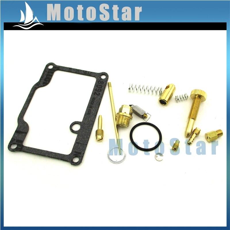 US $11 65 30% OFF|Carburetor Repair Kit For Polaris Xplorer 400 ATV Quad 4  Wheeler 1997 1998 1999 2000 2001 2002 -in Carburetor from Automobiles &