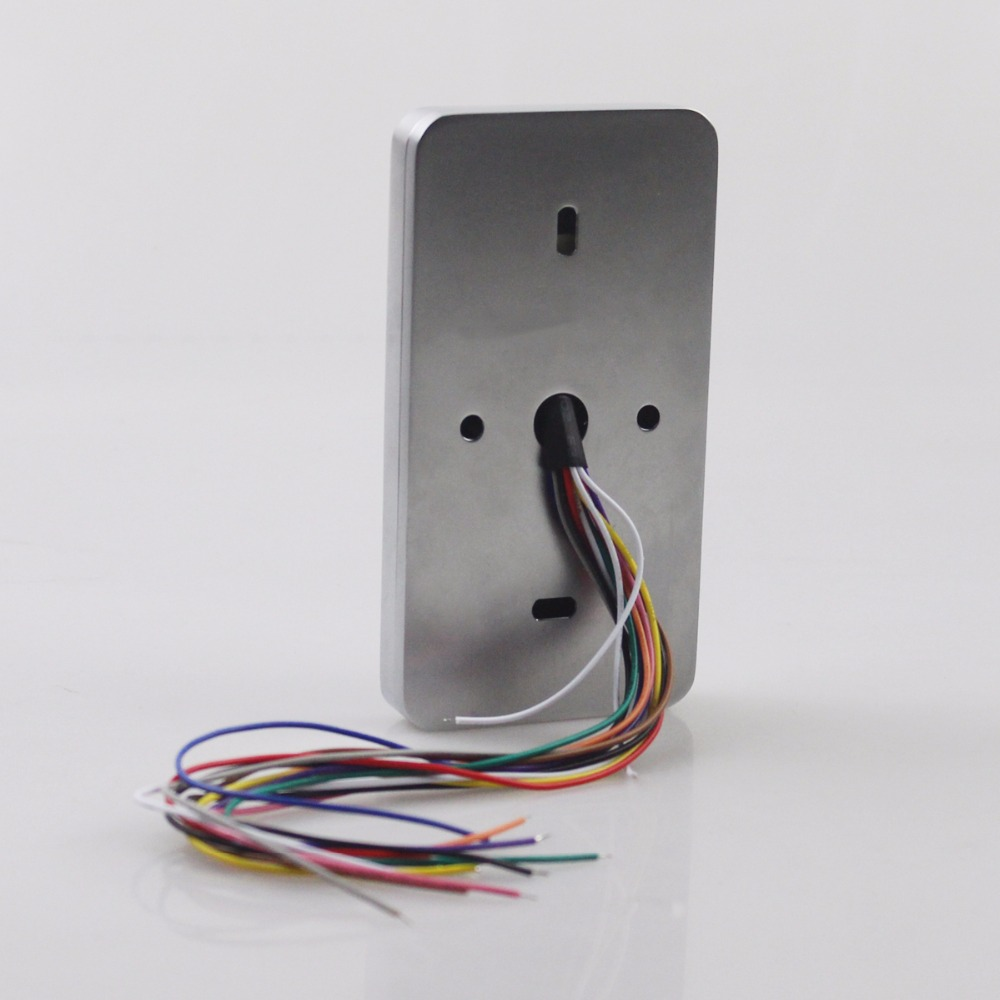 DIYSECUR Waterproof 8000 Users Touch Keypad 125KHz RFID Reader ...