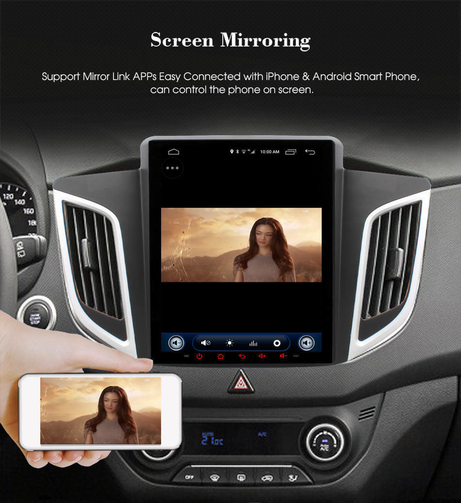 Car dvd C600 mirror link