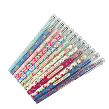 36pcs/Lot Vintage Sweet Garden Flower series gel pen stationery office school supplies papelaria wholesale