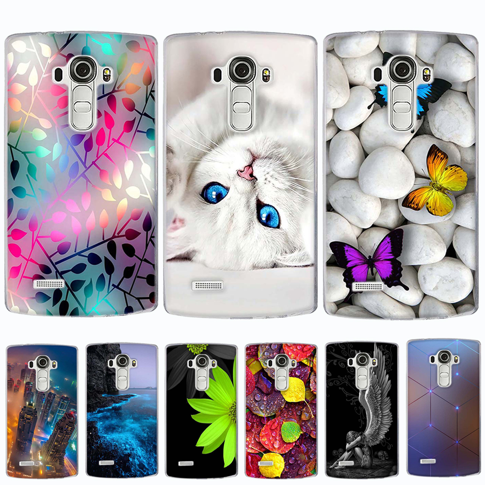 Soft TPU Case For Coque LG G4 Beat G4S Case Cover 3D Relief Painting Coque for G4S Silicone Cover For Funda LG G4 Beat Case Capa image