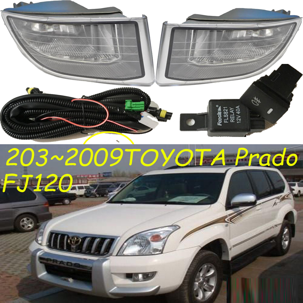 2003~2009 Cruiser Prado fog light,FJ120,LC120,Free ship!halogen,Prado headlight,2700 4000,hilux,yaris;Prado day lamp mzorange for toyota prado 120 2700 4000 for land cruiser lc120 2002 2003 2004 2005 2006 2007 2008 2009 front fog light fog lamp