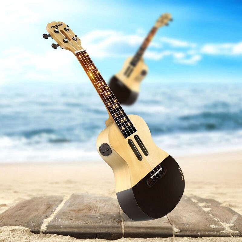 Populele U1 Smart ukulélé Concert Soprano 4 cordes 23 pouces guitare électrique acoustique de Xiaomi APP Phone Guitarra ukulélé - 2