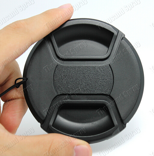 NEW ARRIVAL 49mm Snap-on Front Lens Cap Cover for Camera Sigma Lens