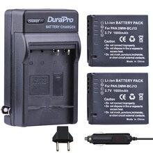 2 шт. 1600 мАч DMW-BCJ13 DMW BCJ13 Перезаряжаемые литий-ионный Батарея машины Зарядное устройство + ЕС Разъем для Panasonic DMC LX5 LX5 LX5GK LX5K LX5W