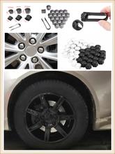 auto shape 20pcs car wheel cover screw protector nut dustproof 17 19MM for Toyota Yaris Tundra Tacoma RAV4 Corolla Aygo Avalon