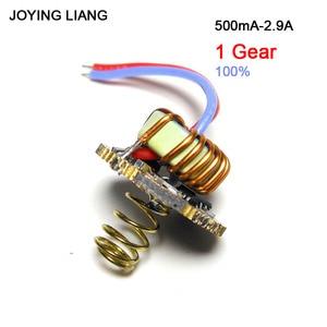 Image 4 - JYL 7801 Flashlight 1 3 Batteries Universal Constant Current T6/U2/L2 Driver Board QX9920 22MM Electric Circuit Board