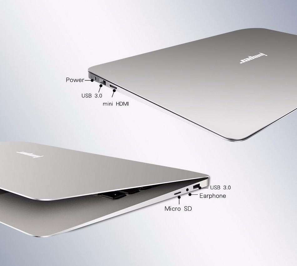 Jumper EZbook 2 A14 14.1 Inch Windows 10 Ultrabook 1920 x 1080 FHD Display Atom X5 Z8300 4GB RAM 64GB eMMC ROM Bluetooth Ultraslim Laptop (8)
