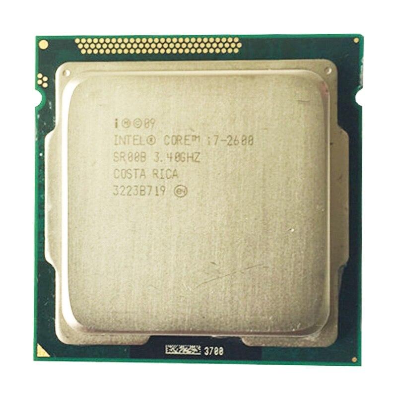 Intel core i7 2600 core 2600 CPU 3,4 GHz/8 MB L3 Cache Quad-Core TDP 95 W/LGA1155 buchse verwenden h61 b75