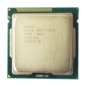 intel core i7 2600 core 2600 CPU 3.4GHz/8MB L3 Cache Quad-Core TDP 95W/ LGA1155 socket use h61 b75