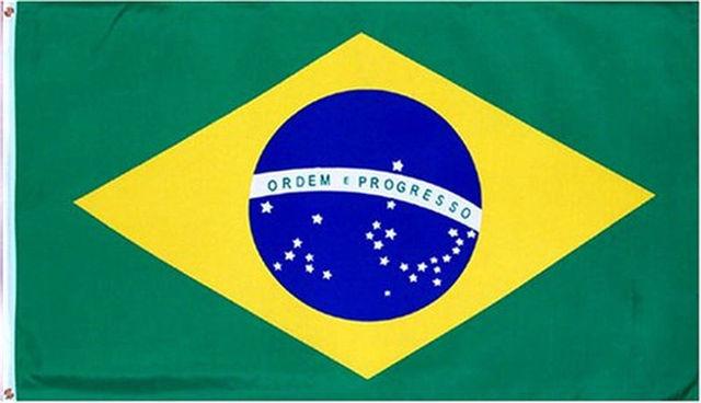 new 3x5 feet large brazilian flag polyester the brazil national