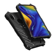 Heavy Duty Protection Batman Armor Aluminum Metal Case For Xiaomi Mi Mix 2s Max 3 Mix 3 Mi9 6x Mi8 Lite Anti knock Case Cover