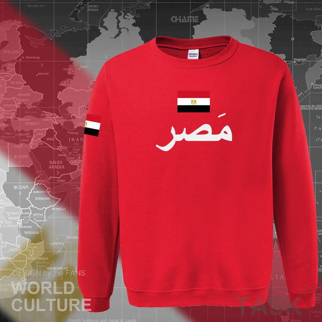 Arab Republic of Egypt hoodies men sweatshirt sweat new hip hop streetwear tracksuit nation footballer sporting EGY Egyptian 3