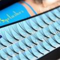 8mm/10mm/12mm Natural Macio Fashion Deluxe Cílios de VOLUME de Extensão Dos Cílios Falsos Cílios Flase Fãs