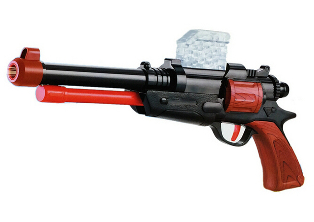 2015 new Paintball Gun Shotgun& Soft Bullet Gun Plastic Toys CS Game  Shooting Water Crystal Gun
