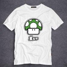 Spiel Super Mario Bros T-shirt Cartoon Pilz männer T Shirt Druck Shirts Mode Teenager Tops Homme Tees S-5XL