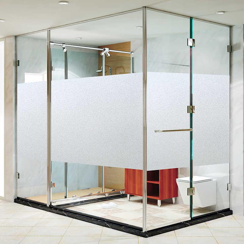 45*100 centimetri Senza Colla Privacy Decorative Window Film Static Cling Self-adesivo Opaco Autoadesivo di Vetro Complementi Arredo Casa Del Vinile 2D In Rilievo