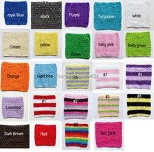 1pc Crochet tube top tutu top 6inch crochet headband girls pettiskirt tutu tops free shipping