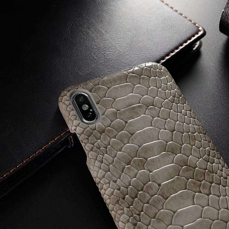 snake pu leather case (6)