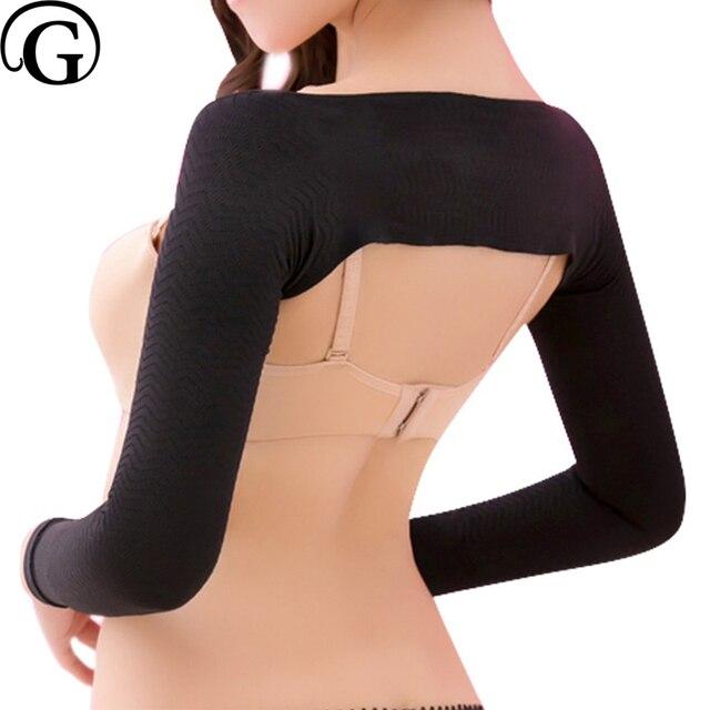311a6679c8 PRAYGER Women Slimming Arm Lifter Shapers Massage Control Shapewear Arm  Shaper Back Shoulder Corrector Wrap