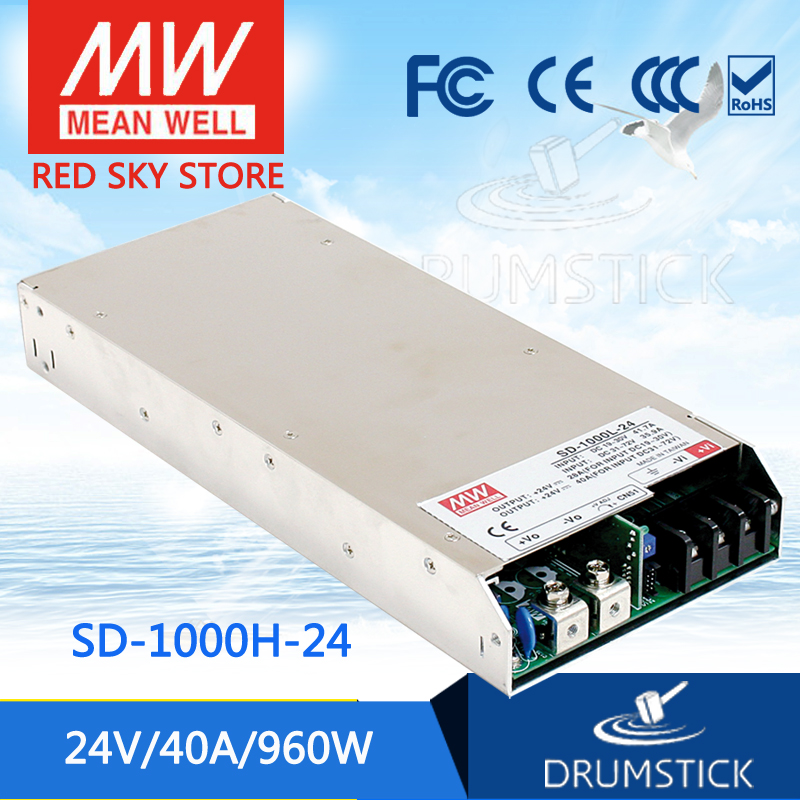 hot-selling MEAN WELL SD-1000H-24 24V 40A meanwell SD-1000 24V 960W Single Output DC-DC Converter цена 2017