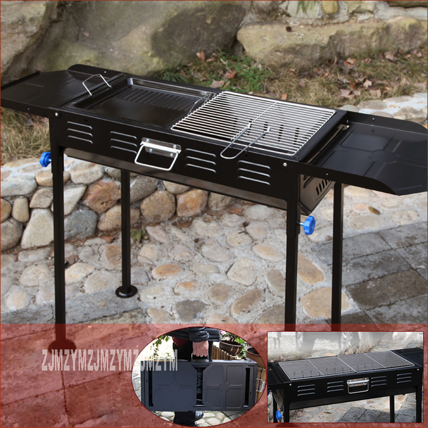 Thickened Type Large Barbecue Grill High Quality Household BBQ Barbecue Outdoor Charcoal Portable Grill For 5 People Hot SellingThickened Type Large Barbecue Grill High Quality Household BBQ Barbecue Outdoor Charcoal Portable Grill For 5 People Hot Selling