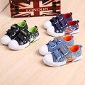PDEP Kids School Boy Cool Black Canvas Casual Shoes Comfortable Children Boys Printed Platform Blue Denim Canvas Shoes