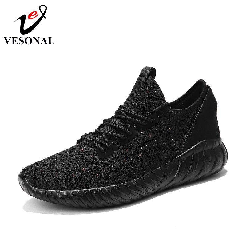 2018 adulti mesh Khaki Scarpe Fashion nere maschile semplice Jogger per traspirante Sneakers Qualità Shoes scarpe Light Vesonal per Autumn Brand bianche scarpe uomo Casual vFqfPP