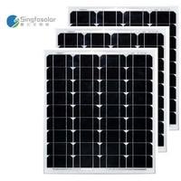 LED Panel Solar 12v 50w Solar Modules 36v 150w Solar Battery Charger Camping Buitenverlichting Zonne Energie RV Motorhome
