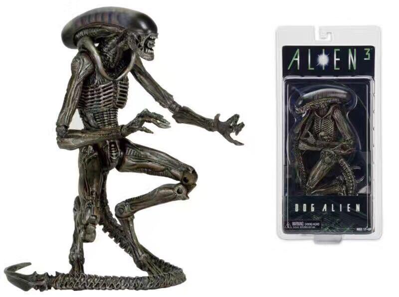 ALEN NECA Alien 3 Dog Alien PVC Action Figure Collectible Model Toy 7 18cm neca batman begins bruce wayne pvc action figure collectible model toy 7inch 18cm