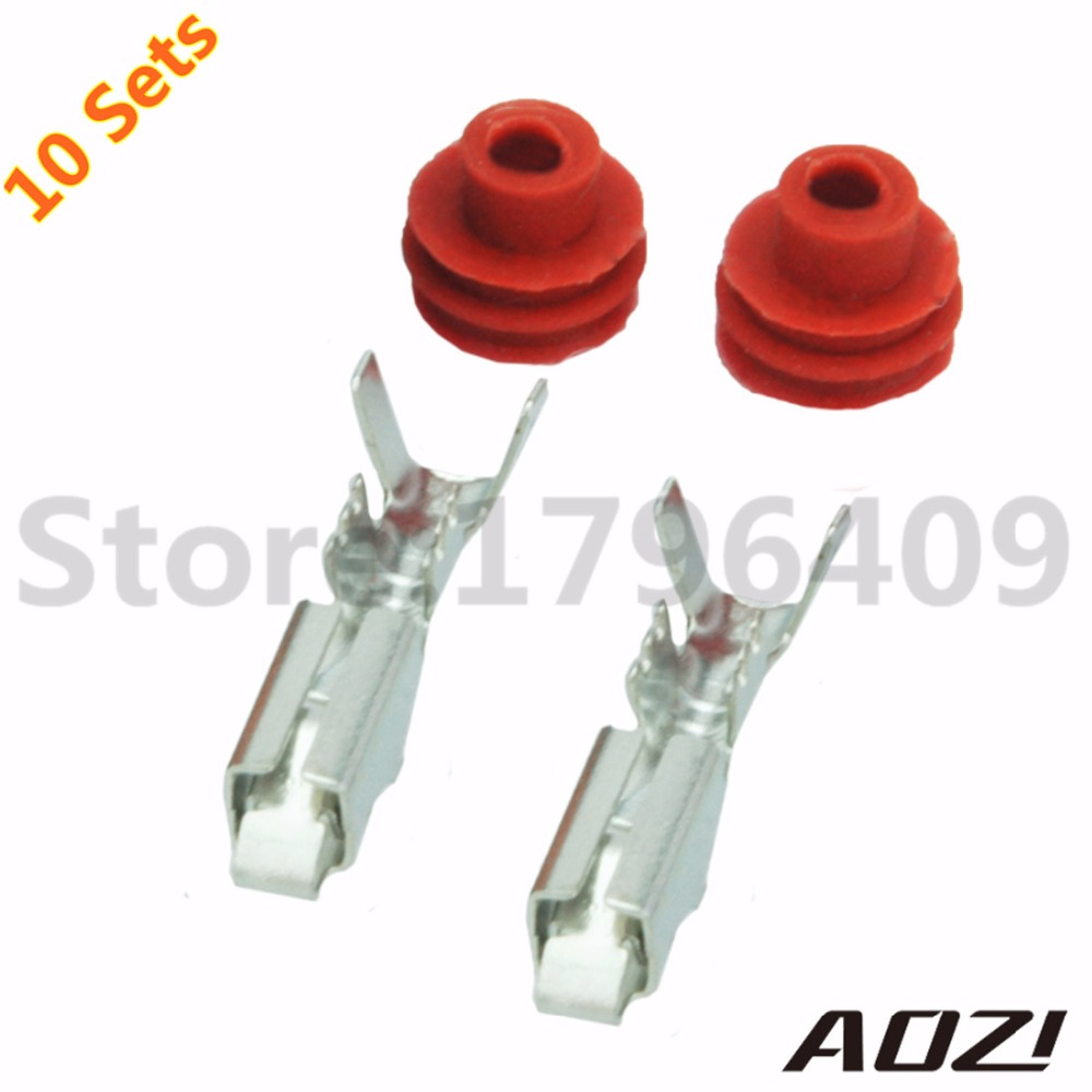 10 Sets Kit Dj 9005 Auto Wire Harness Waterproof Female Connector 2 Automotive Kits Pins Adapter In Connectors From Lights Lighting On Alibaba Group
