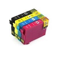 Full Ink 1Set 4 PCS Ink Cartridge T1931 1932 T1933 T1934 Printer FOR Epson WF 2521