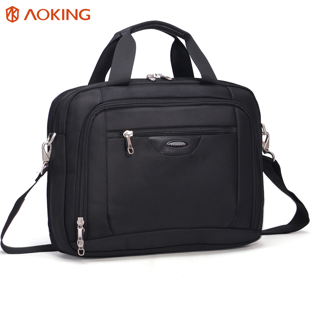 Aoking High Grade Polyester Men Briefcases Light Business Messenger Bags Men Office Handbags Men Totes Casual Male Shoulder Bag