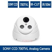 Analog Camera Freeshipping CCTV Camera Mini Dome Security Analog Camera 1000TVL 1200TVL Indoor IR CUT 700TVL