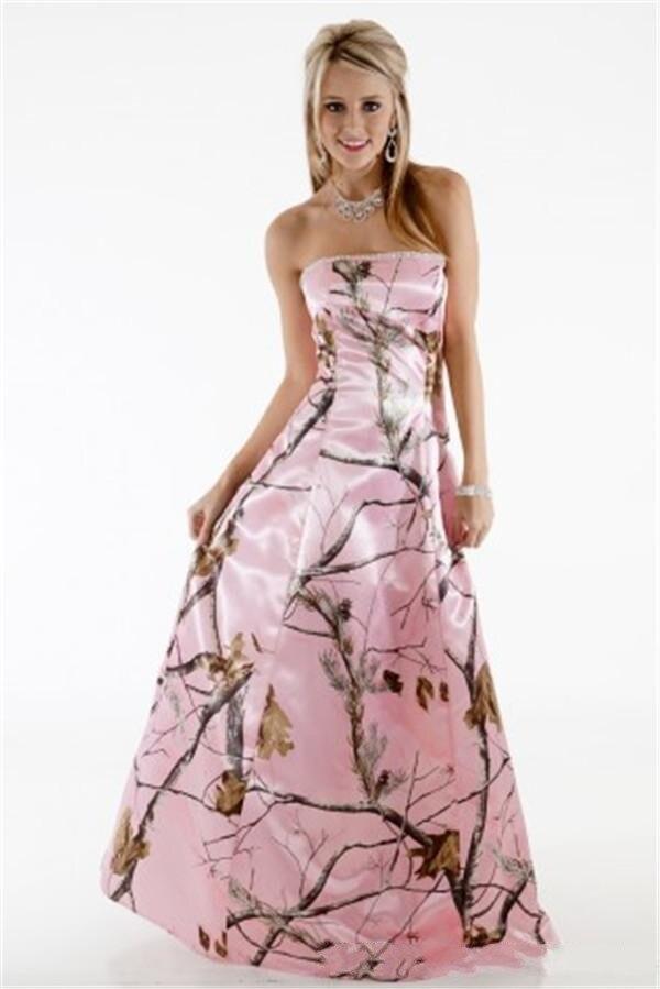 Camo And Pink Wedding Dresses - Wedding Dress Ideas