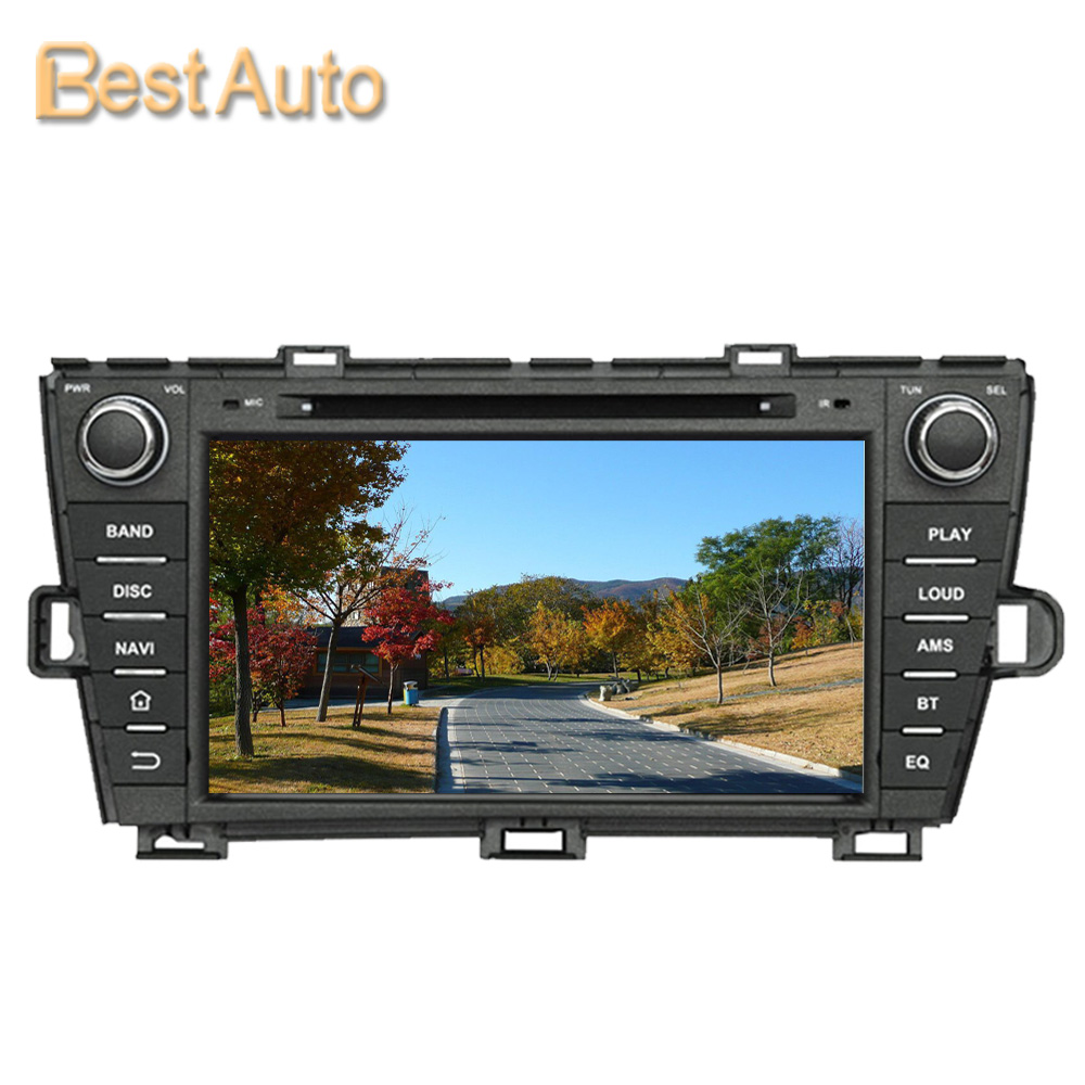 Updated Win Ce  Car Dvd Gps Navigation For Toyota Prius   Right Driving Support Multi Language Menu Mhz M Ddr