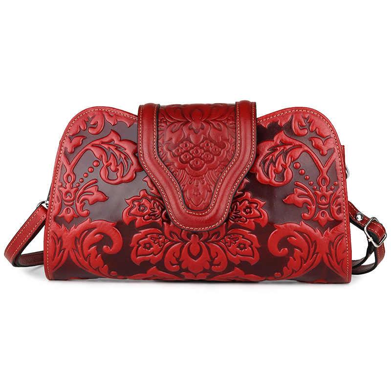 Высокое качество красный/черный 4 женская сумка элегантный тиснение натуральная кожанные женские сумки модные женские повседневные кошельки