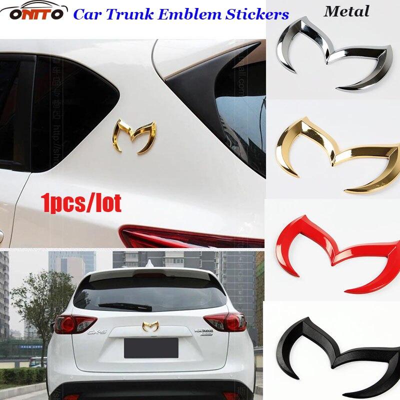 New 1PCS 3D Metal Car Body Stickers For Mazda CX 5 7 9 RX MPV MX AXELA/CX-5/ATENZA Auto Tail Trunk Badge Emblem Logo Badge